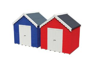 Scenecraft 44-0080 Beach Huts (x2)